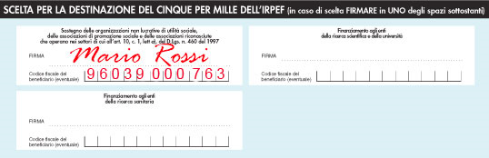 5 x 1000 | Associazione Alzheimer Basilicata