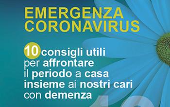 Emergenza COVID Alzheimer Basilicata - 10 consigli utili